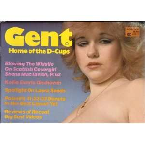 GENT JUNE 1986 KELLIE EVERTS: GENT MAGAZINE: Books