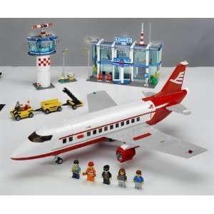 LEGO City Set 3179 3180 3181 3182 Airport Airplane Truck