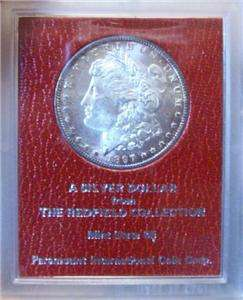 1897 S Morgan Silver Dollar Redfield Paramount Hoard Collection