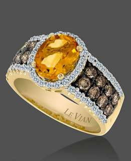 Le Vian 14k Gold Ring, Citrine (1 5/8 ct. t.w.) and White and