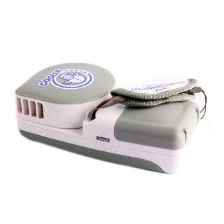 Mini Grey Portable HandHeld Air Conditioner Cooler Fan