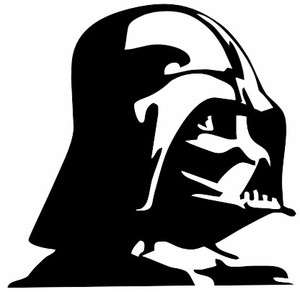 Darth Vader Star Wars Label Car Window Truck Laptop Sticker Decal