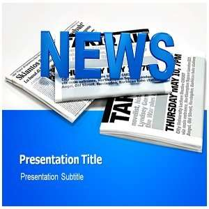 Journalism Powerpoint Templates   Background for Journalism Powerpoint