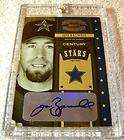 JEFF BAGWELL 2004 DONRUSS THROWBACK THREADS CENTURY STARS GOLD AUTO