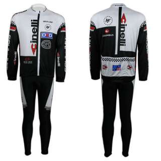 Outdoor Cycling Bike Sports Wear Bicycle Clothing Set Long Sleeve