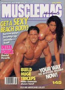 MUSCLEMAG bodybuilding fitness magazine/DENNIS NEWMAN & DEBBIE HALO 7