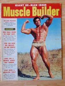 MUSCLE BUILDER bodybuilding fitness magazine/ARMAND TANNY 7 54 |