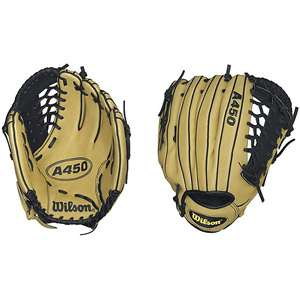 Wilson A450 12 Baseball Glove Team Sports