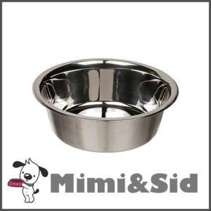 STAINLESS STEEL Food or Water BOWL Dish PET Dog Cat new