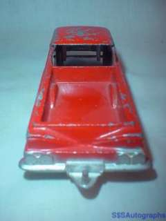 VINTAGE 1960 RED CHEVROLET EL CAMINO TOOTSIE TOY CHEVY