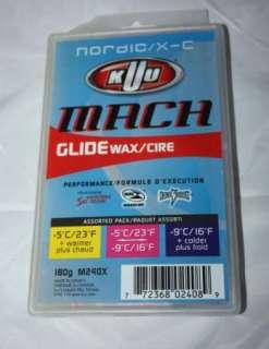 Ski Wax Cross Country XC Nordic wax 3 temp 180gram NEW