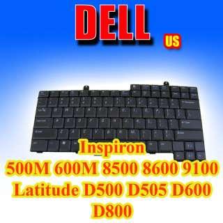 Genuine OEM DELL Keyboard US Latitude D500 D505 D600 D800 1M722 1M745