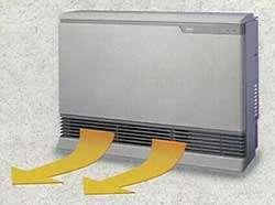 Rinnai Space Heater Natural Gas RHFE 1004FA S (Silver)