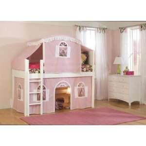 Bunk Bed Tent Top http://www.popscreen.com/p/MTU4MTAyMTM2/Loft-Tent-No-Bed-Pink-Purple-for-Twin-Size-Loft-Bunk-Bed