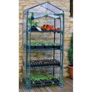 Gardman 4 Tier Mini Greenhouse Garden Center
