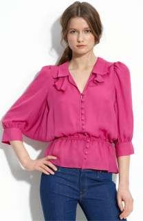 Parker Dolman Sleeve Silk Blouse