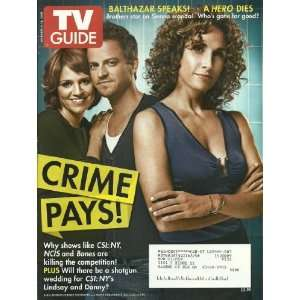 CSI, Anna Belknap, NCIS, Bones: Editors of TV Guide Magazine: Books