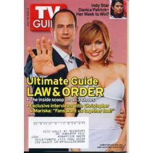 TV Guide July 31, 2005 Christopher Meloni & Mariska Hargitay of Law