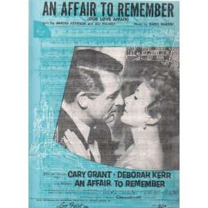 Cary Grant & Deborah Kerr Harry Warren Harold Adamson Books