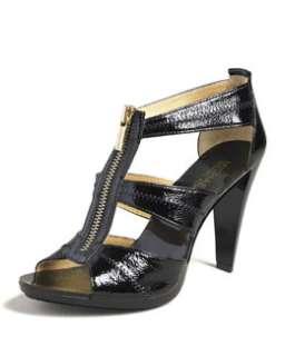 X140T MICHAEL Michael Kors Berkley T Strap Sandal, Black