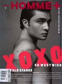 Arena Homme+ Plus Magazine #32 Gossip Girl ED WESTWICK