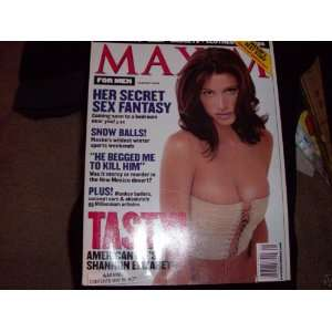 Maxim January 2000 Shannon Elizabeth: maxim: Books