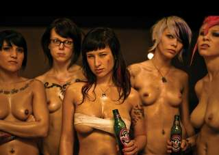 SUICIDE GIRL FIGHT CLUB A3 POSTER PRINT GZ1272