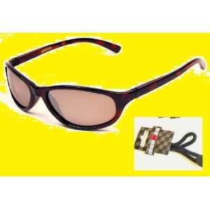 Foster Grant Wayfarer Style Tortoise Sunglasses Polarized with Ironman