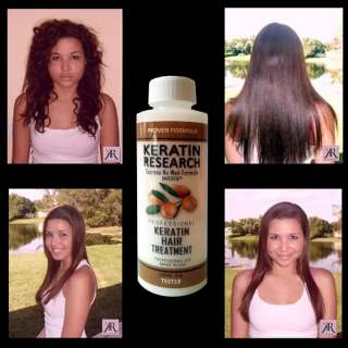 Complex Keratin hair treatment With Argan oil Professional Tester