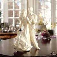 LENOX WEDDING PROMISES FIRST DANCE CAKE TOPPER BNIB LOVE BARGAIN FREE