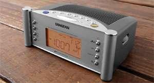 Sangean RCR 2 AM/FM Atomic Clock Radio (Silver): Electronics
