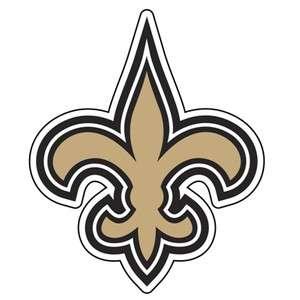 New Orleans Saints NFL 12 DIE CUT WINDOW FILM DECAL STICKER   SET OF