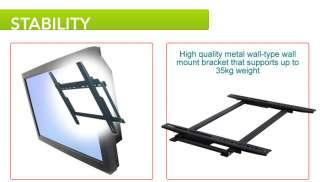 LCD LED TV Plasma monitor flat screen wall mount up 23
