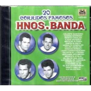 20 Corridos Famosos Los Hermanos Banda Los Hermanos Banda Music