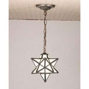 New Meyda 9 Inch W Moravian Star Mini Pendant Ceiling Fixture Mahogany