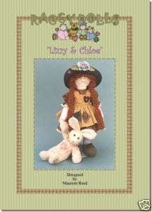 Primitive/Homespun RAG DOLL SEWING/CRAFT PATTERN