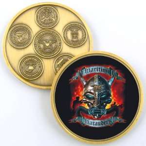 NAVY SEALS MARAUDERS PHOTO CHALLENGE COIN YP566