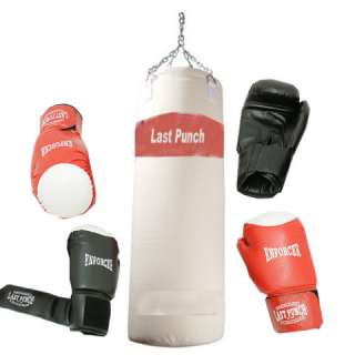 Pairs of Pro Quality Boxing Gloves & Pro Punching Bag