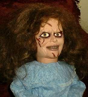 Exorcist Ventriloquist Doll EYES FOLLOW YOU Dummy Puppet Halloween