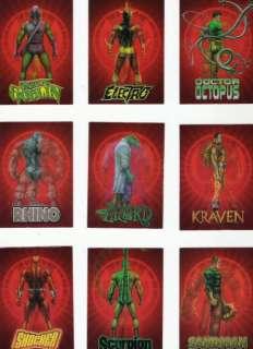 Marvel Universe Spider Man Archives Lenticular Card Set