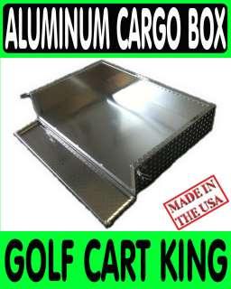 Club Car Precedent Golf Cart Aluminum Diamond Plate Cargo Box/Utility