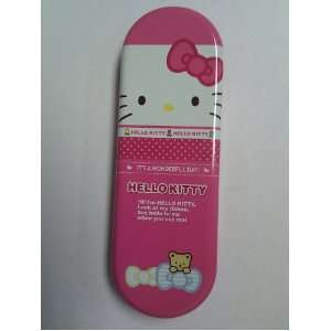 Hello Kitty Pencil Box in Pink Finish