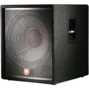 Watt Subwoofer, Dual Inputs, Built in crossover: Musical Instruments