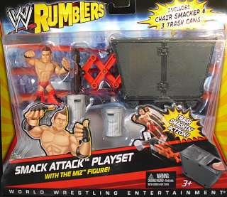 SMACK ATTACK   WWE RUMBLERS MATTEL TOY WRESTLING ACTION FIGURE