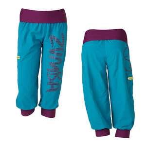 Zumba Up Down Cargo Capri Pants Blue Lagoon Zumbawear Dance Fitness