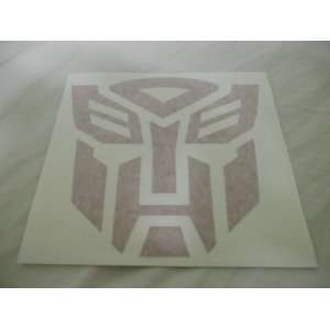Transformers Autobots Racing Decal Sticker (New) Red X2