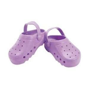 Fibre Craft Springfield Collection Summer Shoe Lavender